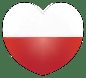 niepodległa list wdzięczności flaga Polski serce